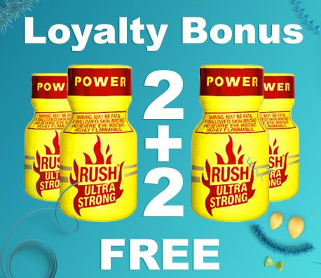 Loyalty Poppers-Bonus get 2 + 2 FREE #poppers #poppers_com