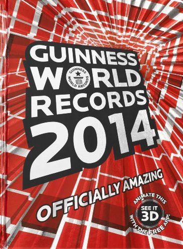 Niezwykła książka z najnowszymi rekordami. Księga rekordów Guinnessa 2014 ogromne źródło wiedzy dla maluszka i dorosłego
