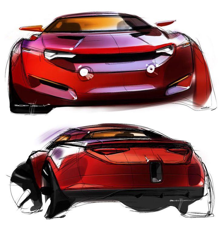 Best Sketch Images On Pinterest Car Sketch Automotive