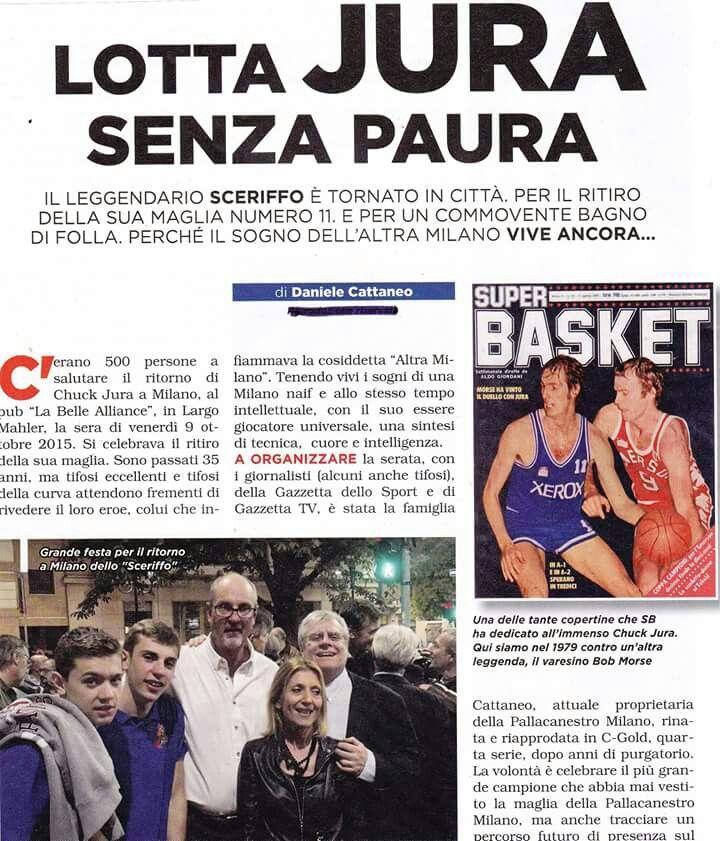 Chuck a Milano