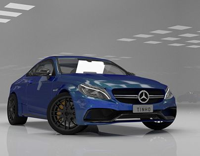 "Check out new work on my @Behance portfolio: ""Mercedes Benz AMG C63 