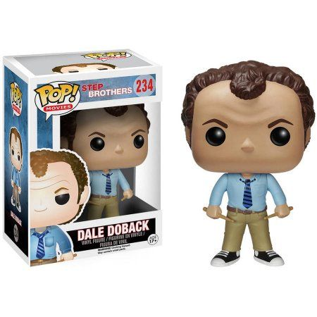 Funko POP Movies 6150 POP Movies: Step Brothers, Dale Doback, Assorted