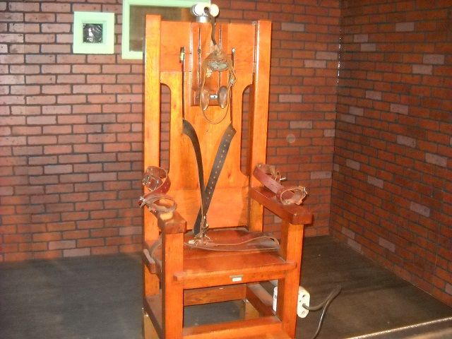 Capital Punishment I Ve Changed My Mind Death Penalty Electric Chair Death