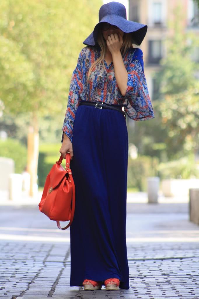 17 Best ideas about Navy Maxi Skirts on Pinterest | Full skirts ...