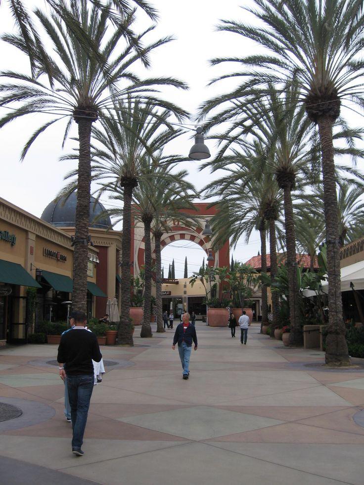 Shoppingcentre Spectrum, Irvine, Orange County