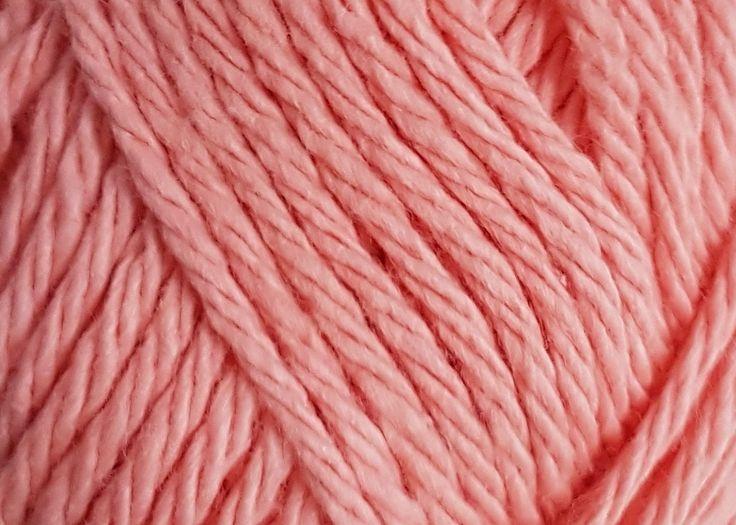 Bernat Handicrafter 1746 Coral Rose 1.75 ounce or 50 gram ball. 100% Cotton.