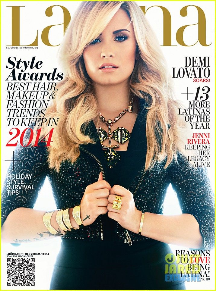 demi lovato covers latina magazine 01 Demi Lovato keeps her jacket closed on the December/January cover of Latina magazine, on newsstands November 12.    Here's what the 21-year-old entertainer had…