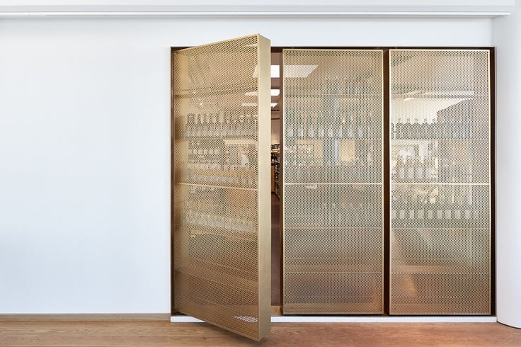 Door-like beverage storage designed by Retail Architects and Årstiderne…