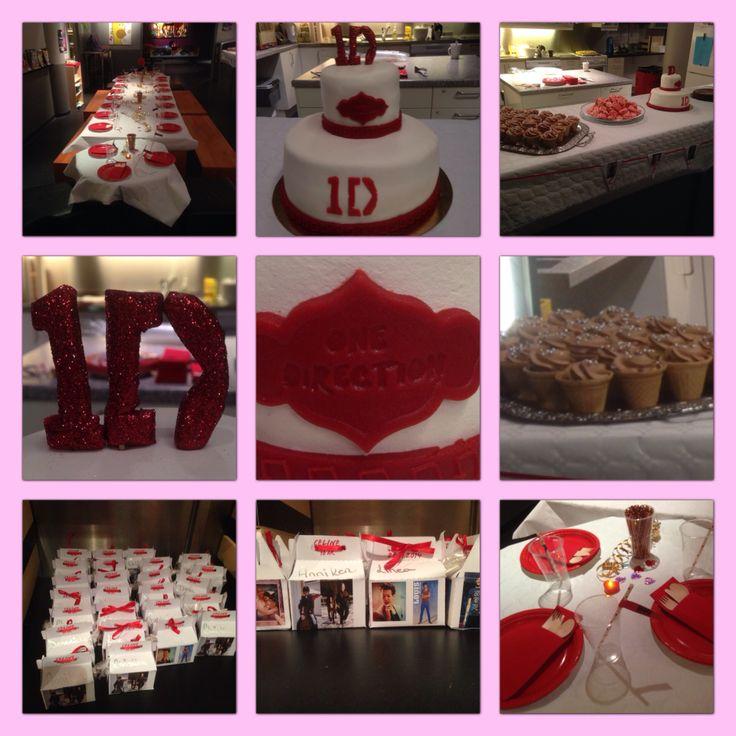 One Direction birthday
