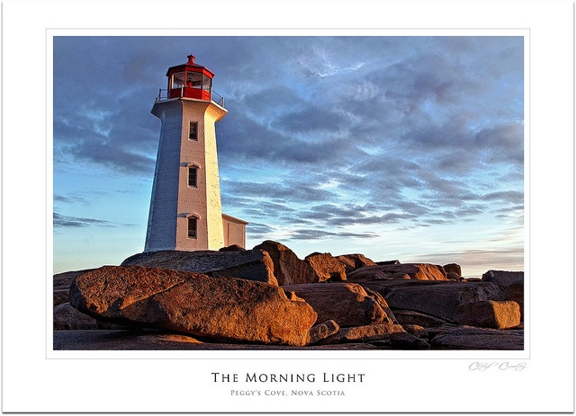 Visiting Peggy's Cove, Nova Scotia, Canada, will be one of the highlights of my trip.  Photo Credit:  C's Photo-Artistry.