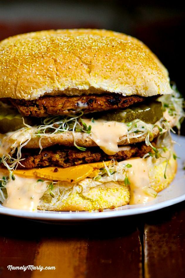The Vegan Big Mac needs to be in your life!   NamelyMarly.com