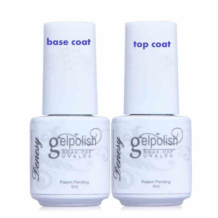 2 pçs/lote, China esmalte gel UV unha polonês gelpolish set kit, Ácido livre primer / base coat + top coat, Vernis verniz lacquer alishoppbrasil