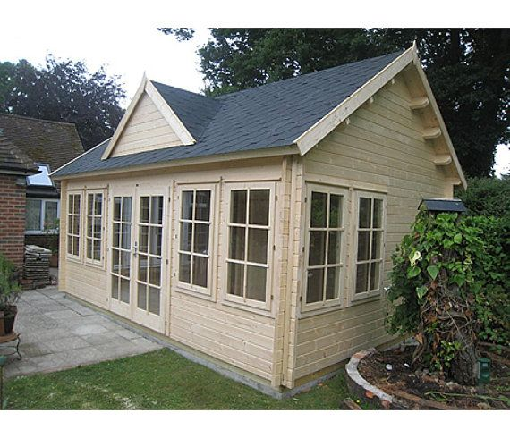 Cabin Claudia 209 Sqf Kit Cabin Free Shipping Financing House Pool House Shed