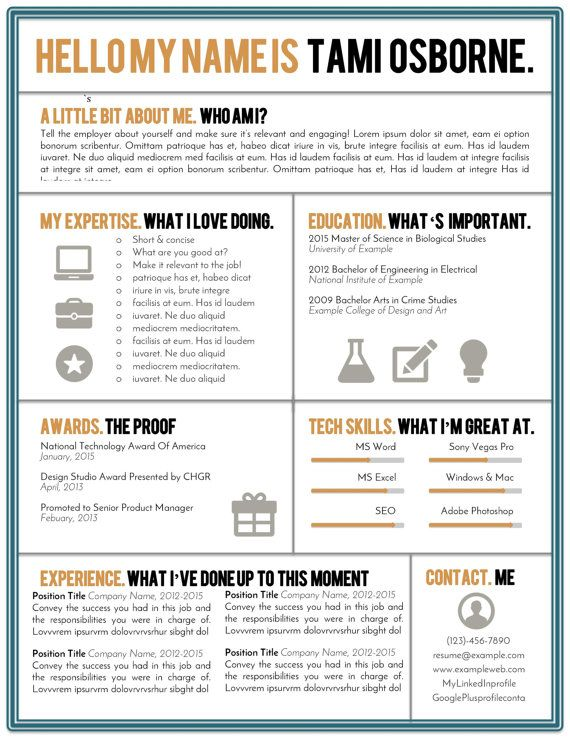 19 best CV images on Pinterest Cv template, Resume and Resume - microsoft word coupon template