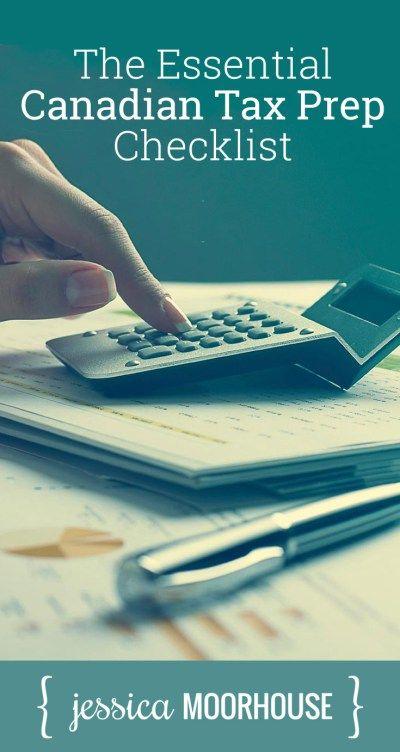 My Essential Tax Preparation Checklist