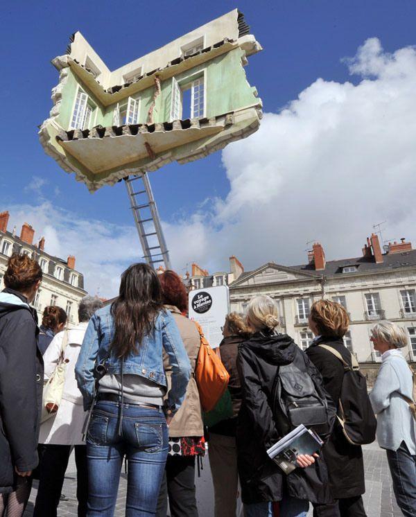 floating room Leandro Erlich  #LeandroErlich Artista argentino #Art #Ilussion
