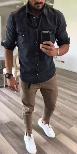 mens fashion style casual