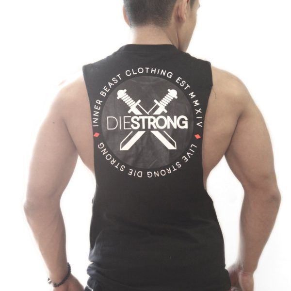 DIE STRONG SLEEVELESS TANK V2.0