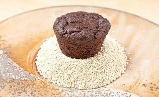 Lots of quinoa recipes like this gluten-free quinoa cupcake :)