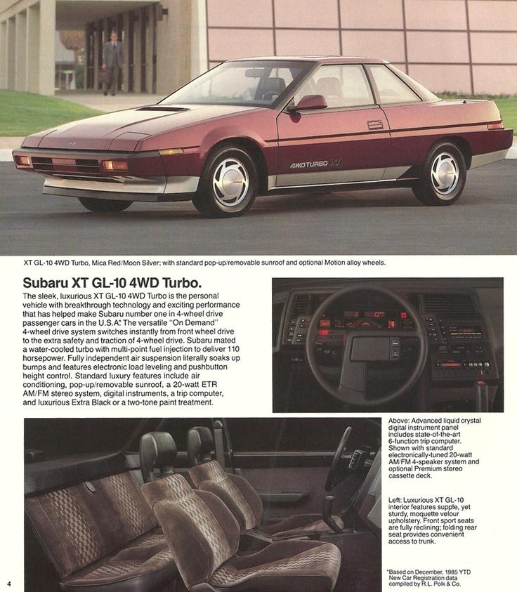 Subaru Front Wheel Drive : The subaru gl wd turbo quot versatile on demand