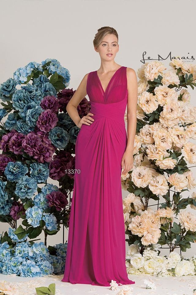 Tinaholy Couture - Le Marais Collection 13370 Fuchsia