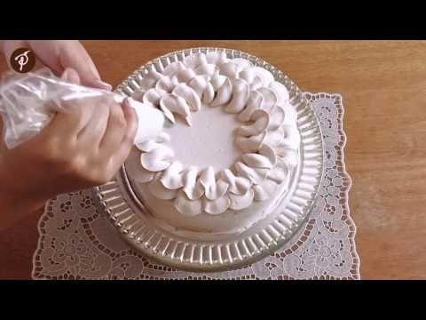 Bolos decorados em 1 minuto - Bico pétala Wilton 125 - YouTube