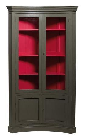 Meuble meuble d 39 angle incurv mobilier meubles d angle signature meubles relook s meuble d - Signature meubles ...