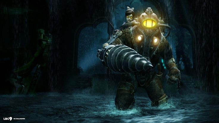 bioshock 2 wallpaper 5/5 | first person shooter games hd backgrounds