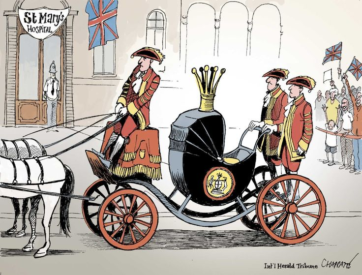 Cartoonists welcome the Royal Baby - Gallery