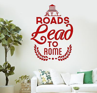 1000 italy quotes on pinterest beautiful friend going for Wall stickers roma