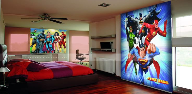 Cortinas infantiles marvel #marvel #kids #room #cortinas ...