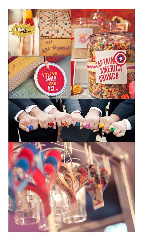 Comic Book Wedding Ideas Quirky Theme Superheroes Weddingdates Blog