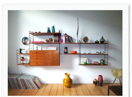 String shelving. (MidCentury issue 03)