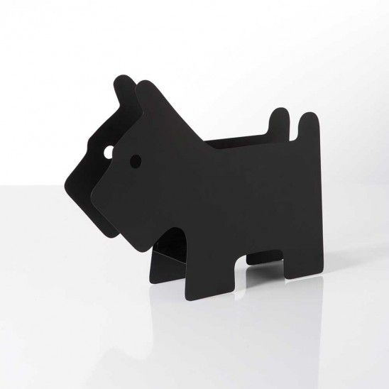 Scottie Dog Magazine Rack by Torre and Tagus