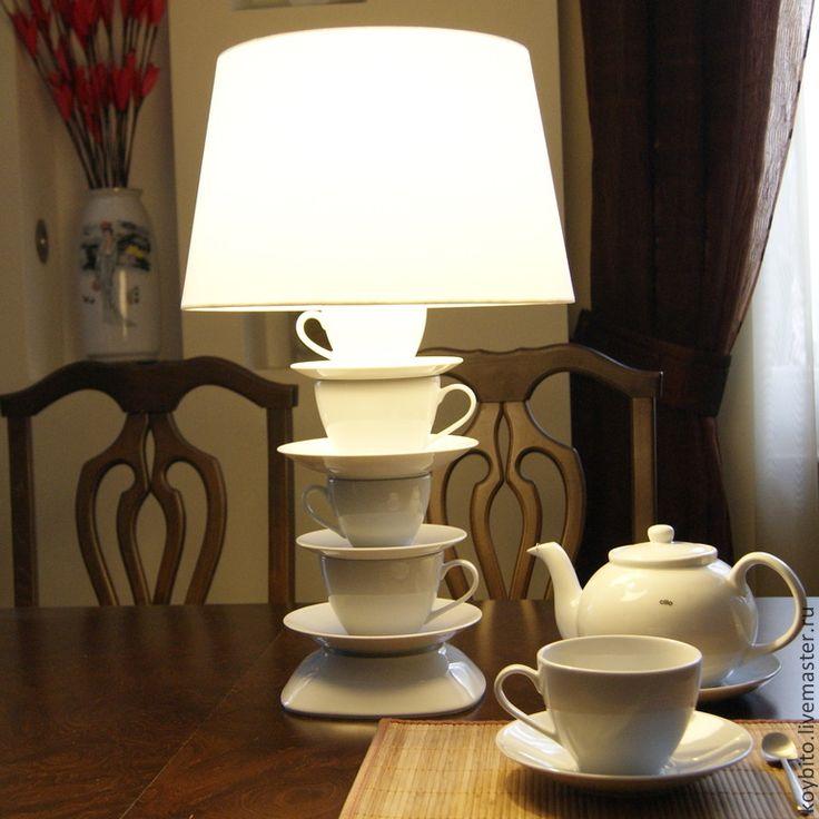 """Почему то сдаёт позиции светильник  """"Чаепитие"""" - лампа, светильник, подарок, подарок на новый год, интерьер, световое оформление"""