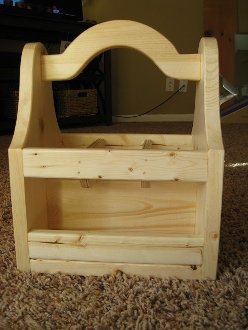 Beer Tote Woodworking Wooden Tool Boxes Woodworking