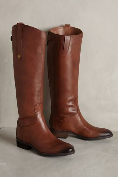 Timeless leather riding boots: http://www.stylemepretty.com/living/2015/10/04/the-15-classic-pieces-every-woman-needs-in-her-wardrobe/