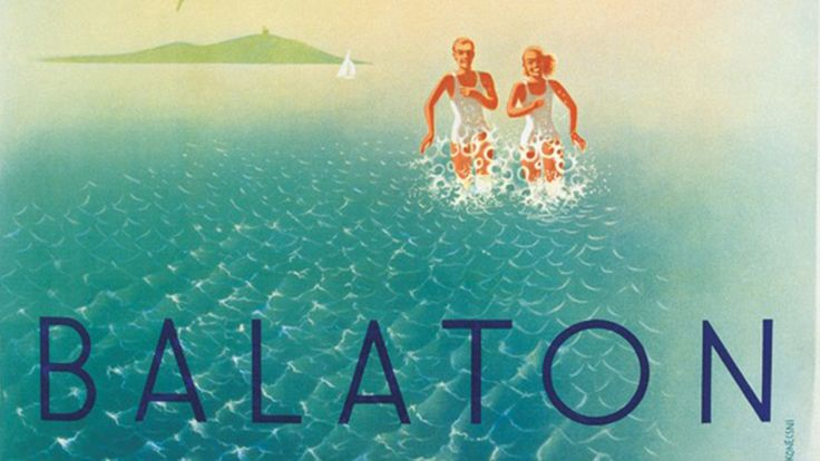 Balaton retro00 plakat1 poszter hirdetes BALATON.travel