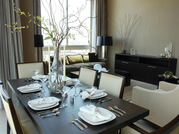Contemporary Designer Dining Room Http Www Hgtv Com