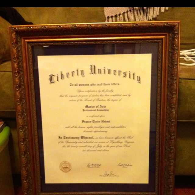 hobby lobby quoted me 250 for custom framing of my graduate diplomayea