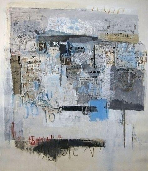 Sarah Grilo: Oil On Canvas
