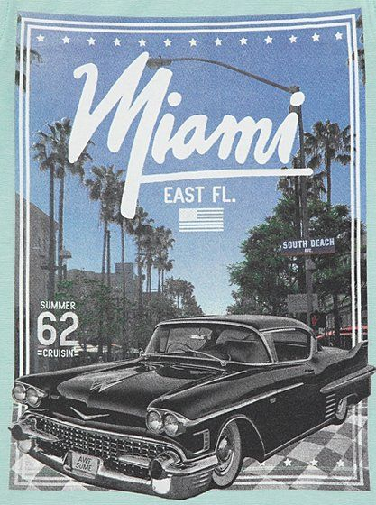 Miami Car Print T-shirt, read reviews and buy online at George. Shop from our latest range in Kids. Take a trip to sunny Miami with this cool T-shirt. Featur...
