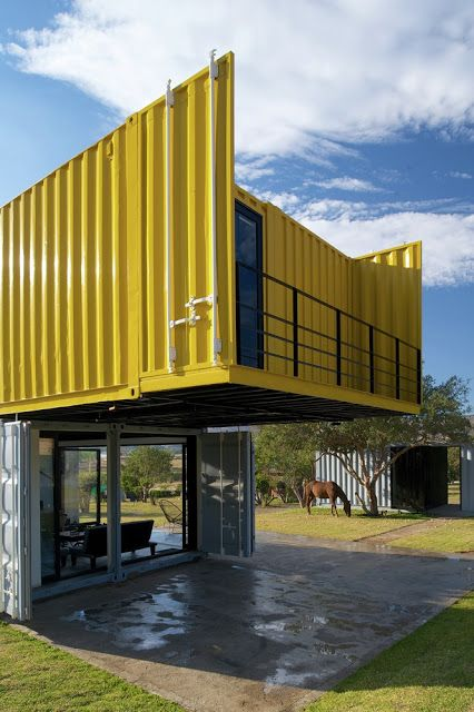 Shipping Container Homes: Huiini Container House in Mexico by S+ diseo