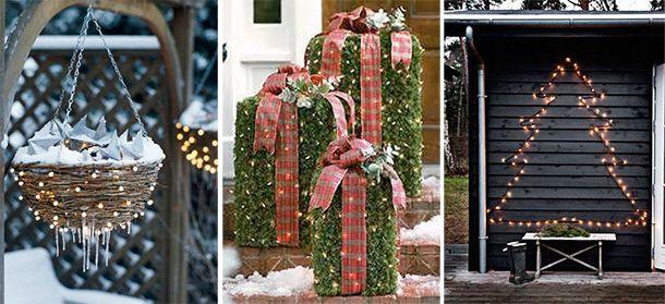 Artikel: Kom helemaal in kerststemming met deze 5 tips voor kerstdecoratie voor buiten op Welke.nl