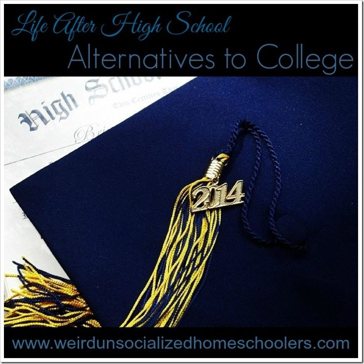 College may not be the logical next step after graduation for all students. Consider these college alternatives.