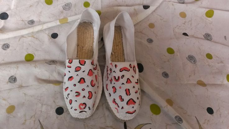 Zapatillas Pintadas a Mano: Para ti...si!
