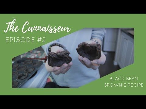 Cannabutter Vegan Black Bean Brownie Recipe [Tutorial] - Episode #2 - YouTube