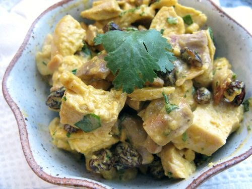 recipe: chicken curry party salad [1]