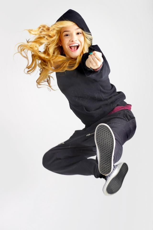 Olivia Chachi Gonzales at a photo shoot (: