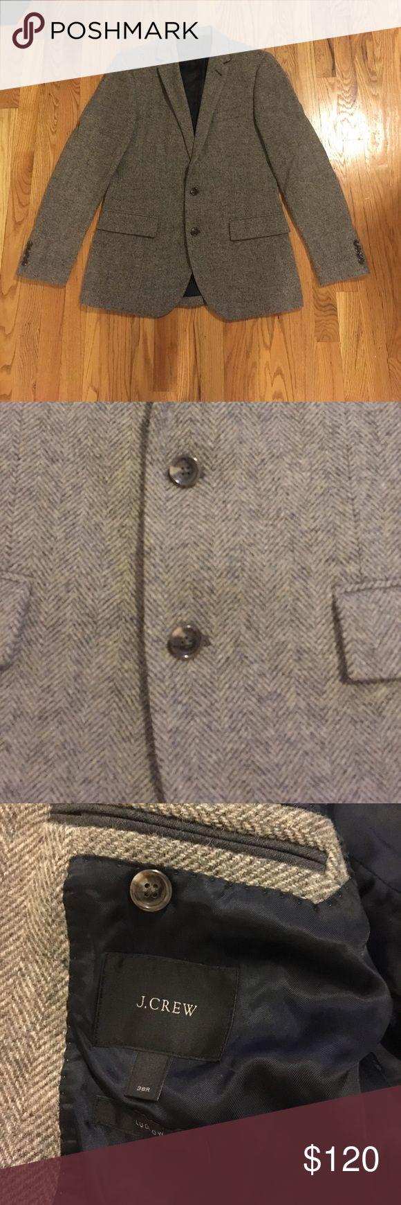 PRICE ⬇ JCrew blazer Brown tweed. Like new! J. Crew Suits & Blazers Sport Coats & Blazers